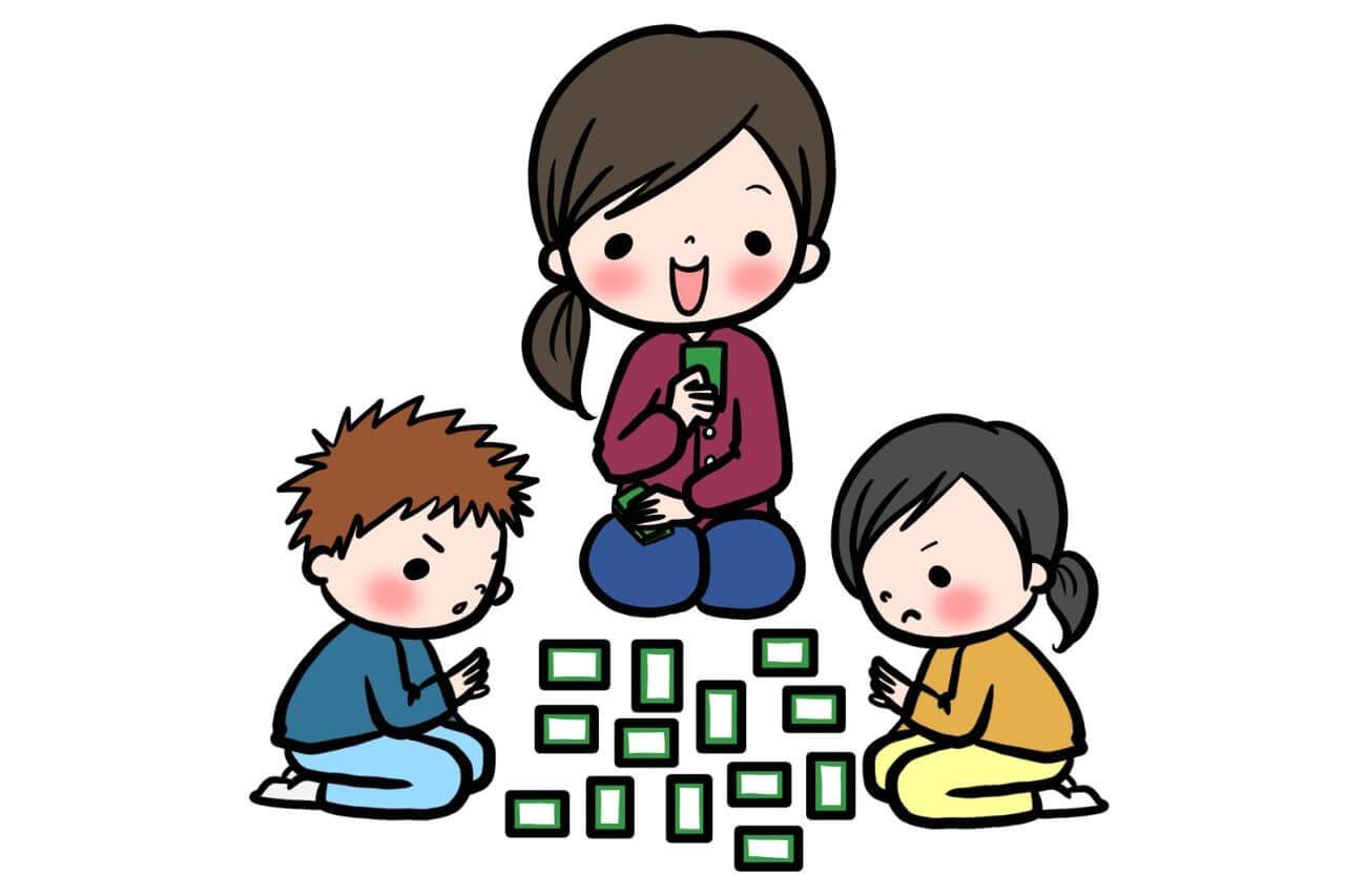 【日本語ゲーム】動詞で神経衰弱