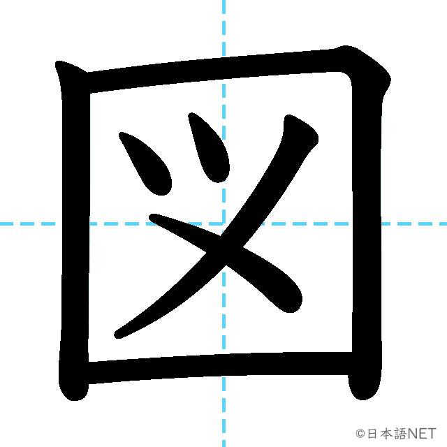 【JLPT N4漢字】「図」の意味・読み方・書き順