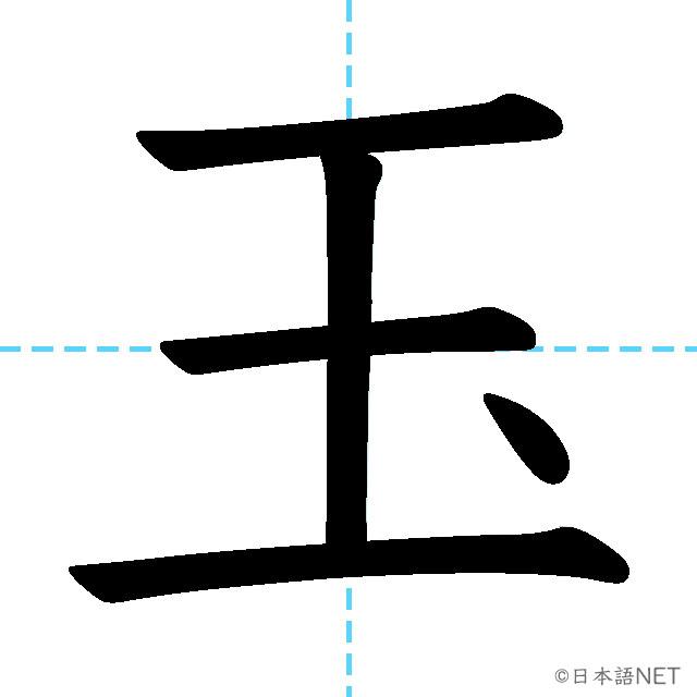 【JLPT N2漢字】「玉」の意味・読み方・書き順