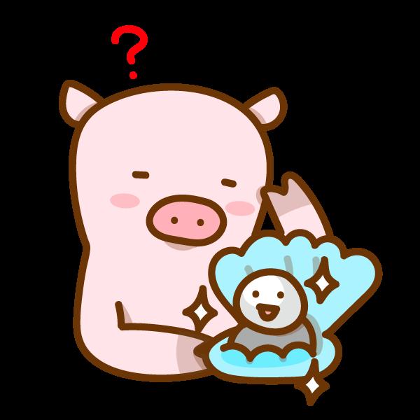 【故事・ことわざ】豚に真珠