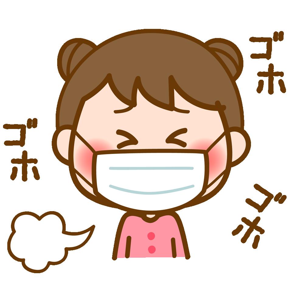 【オノマトペ】ゴホゴホの意味と例文