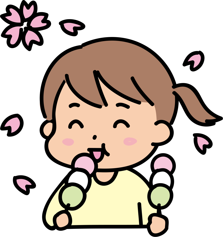 【故事・ことわざ】花より団子