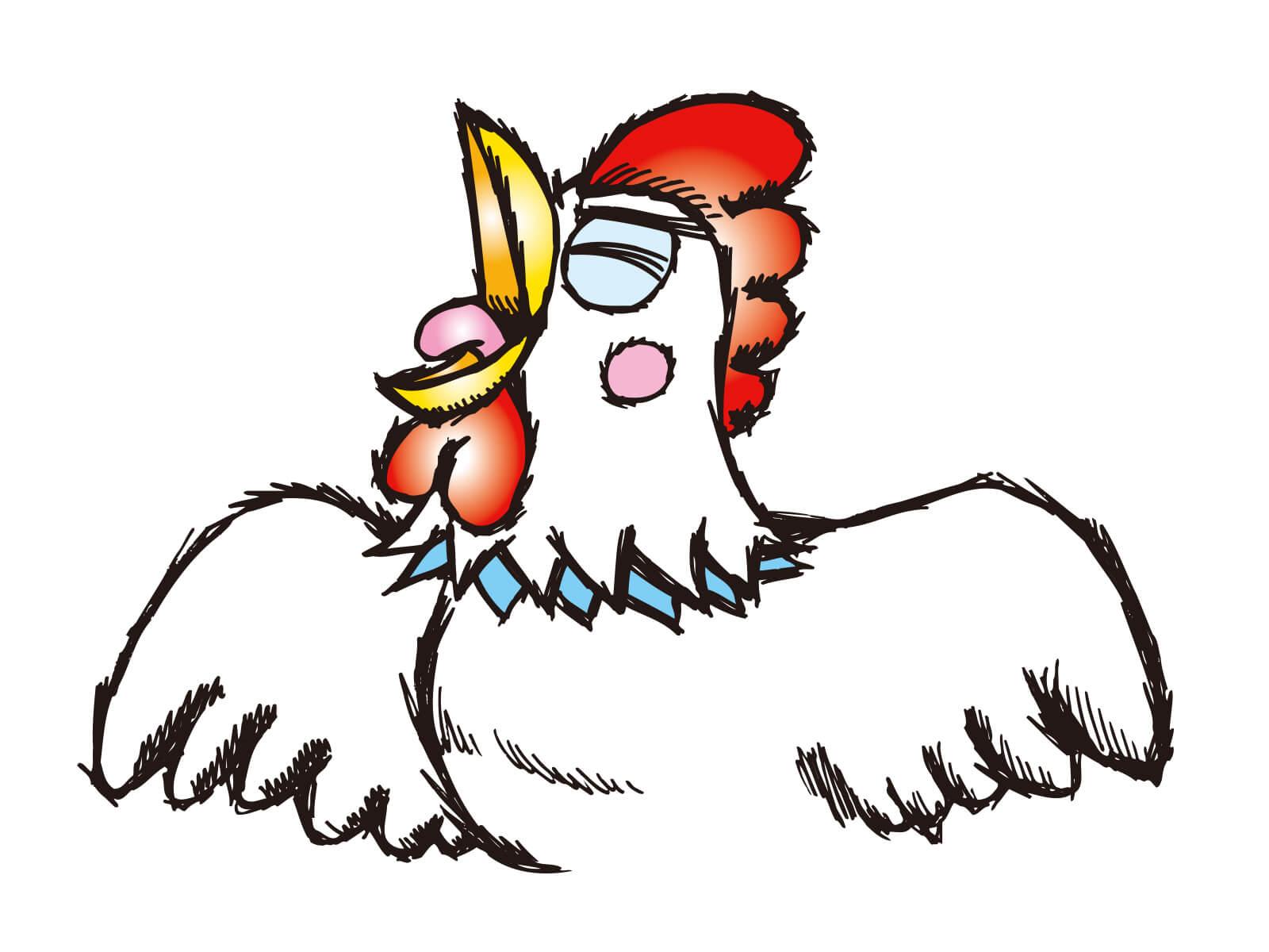 【オノマトペ】コケコッコーの意味と例文