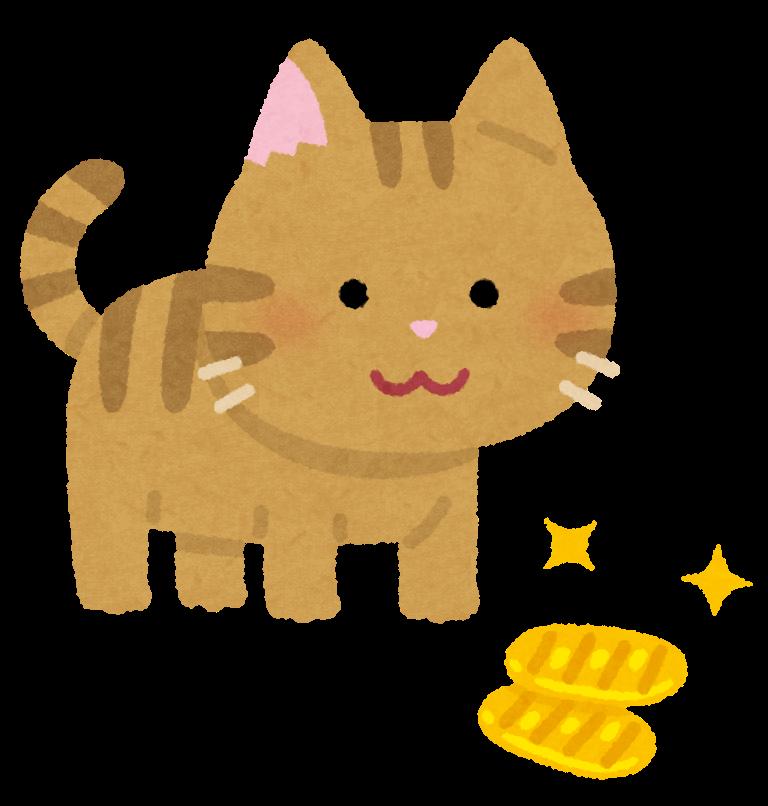 【故事・ことわざ】猫に小判