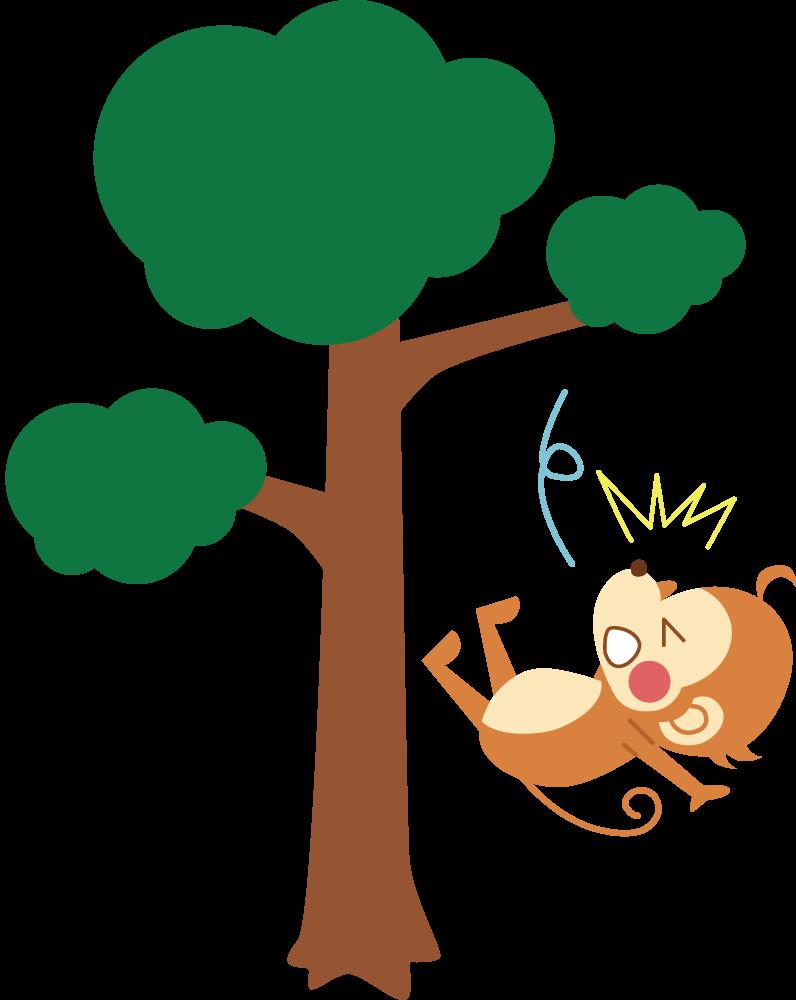 【故事・ことわざ】猿も木から落ちる