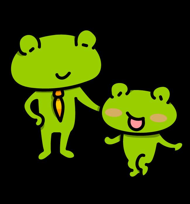 【故事・ことわざ】蛙の子は蛙(かえるのこはかえる)