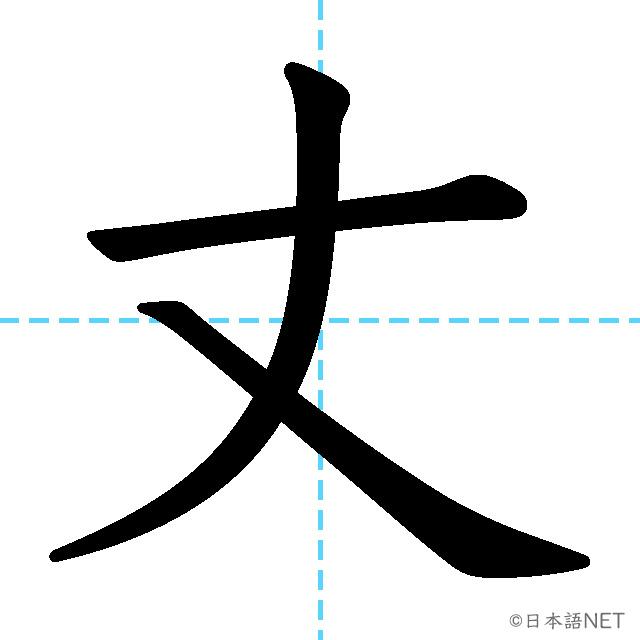 【JLPT N1漢字】「丈」の意味・読み方・書き順