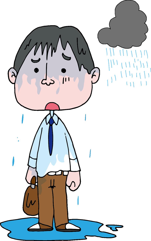 【オノマトペ】びしょびしょの意味と例文