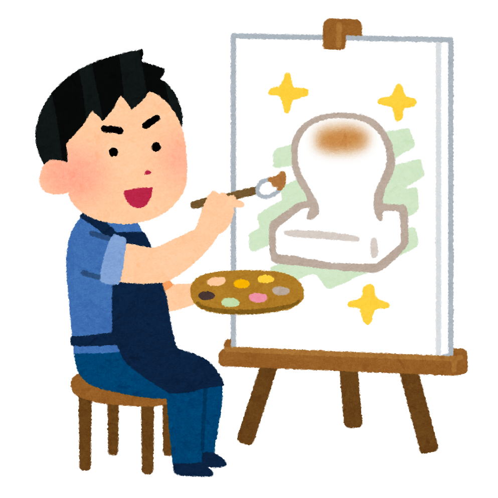 【故事・ことわざ】絵に描いた餅 (えにかいたもち)