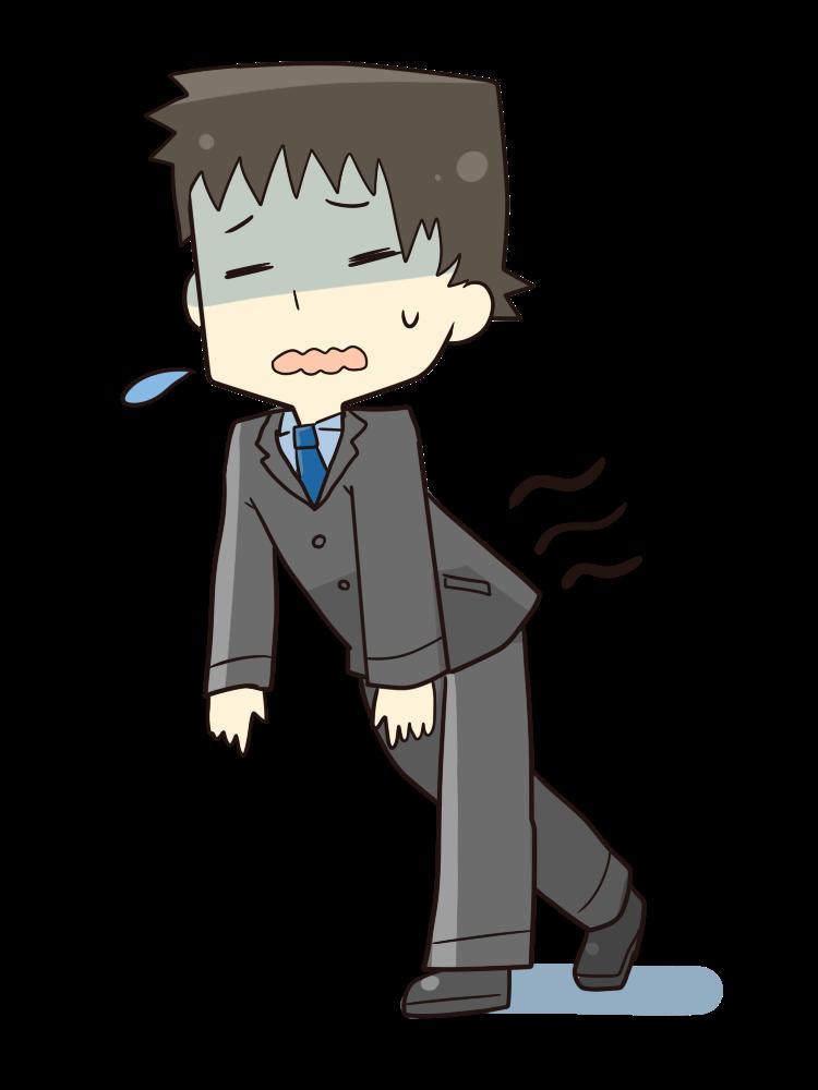 【オノマトペ】ふらふらの意味と例文