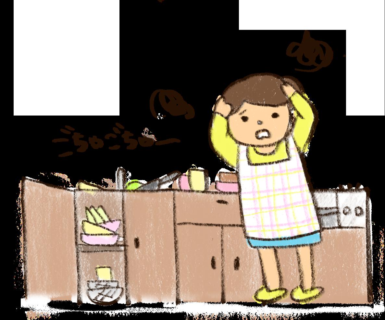 【オノマトペ】ごちゃごちゃの意味と例文