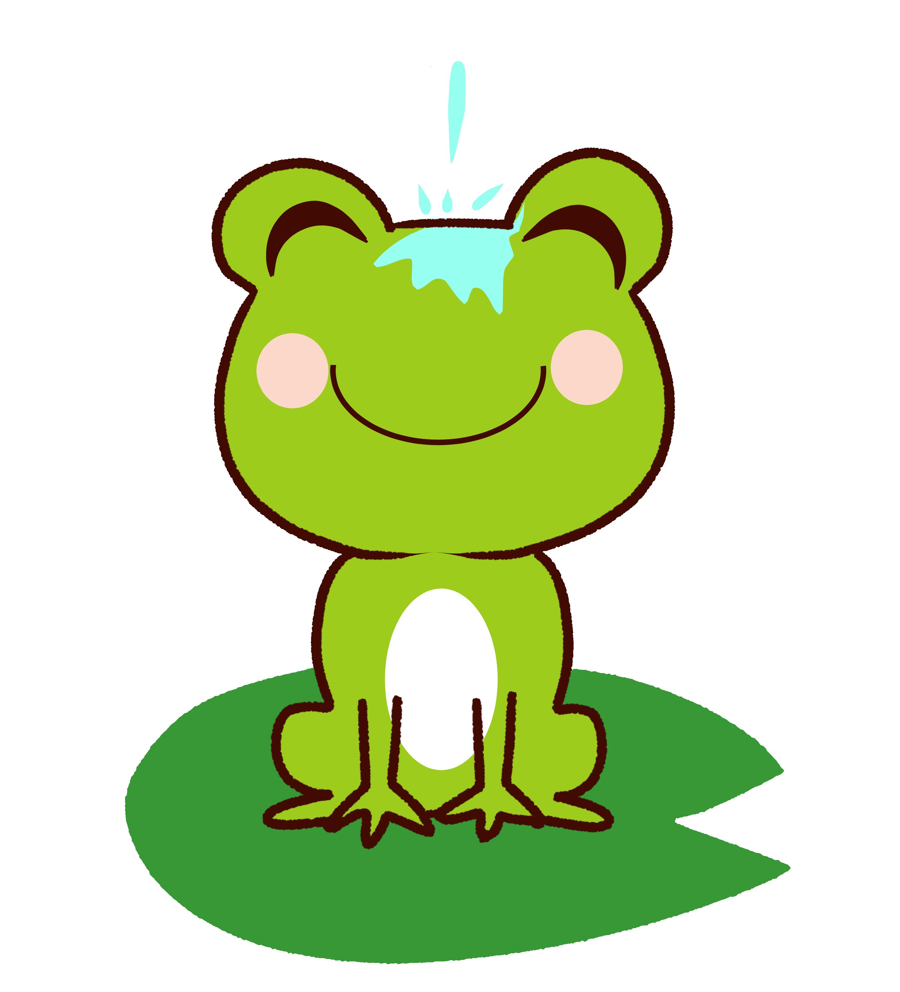 【故事・ことわざ】蛙の面に水(かえるのつらにみず)