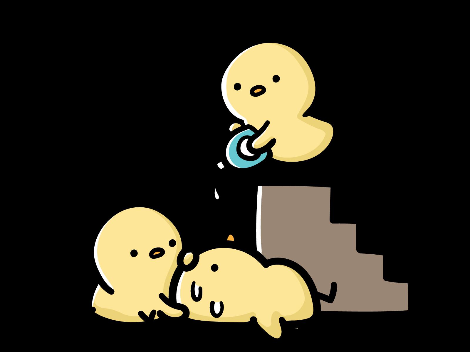 【故事・ことわざ】二階から目薬(にかいからめぐすり)