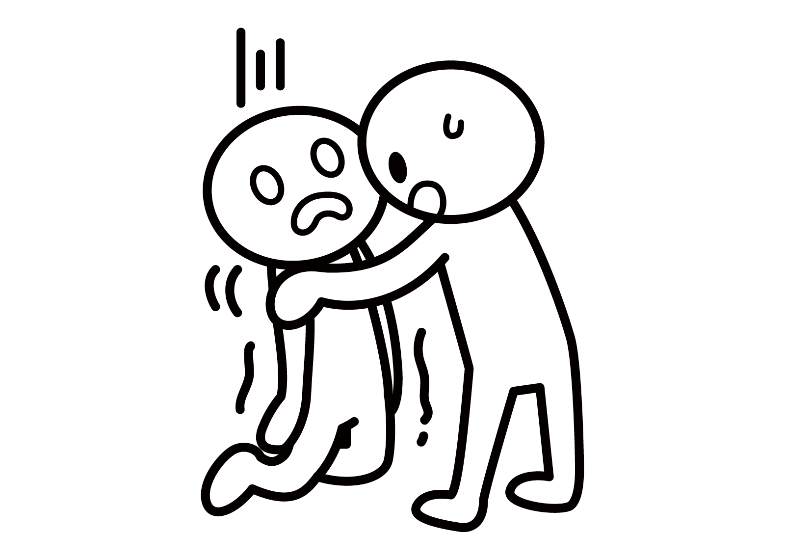 【オノマトペ】へなへなの意味と例文