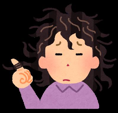 【オノマトペ】ぼさぼさの意味と例文