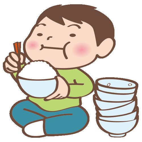 【オノマトペ】もりもりの意味と例文