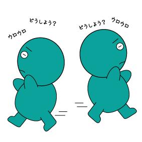 【オノマトペ】うろうろの意味と例文