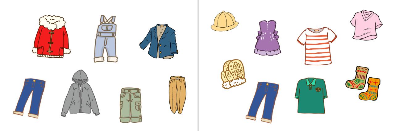【語彙】「衣服」と「衣類」の違い・使い分け