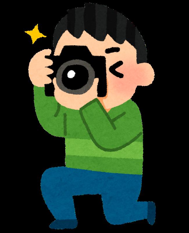 【オノマトペ】カシャッ / パシャッの意味と例文