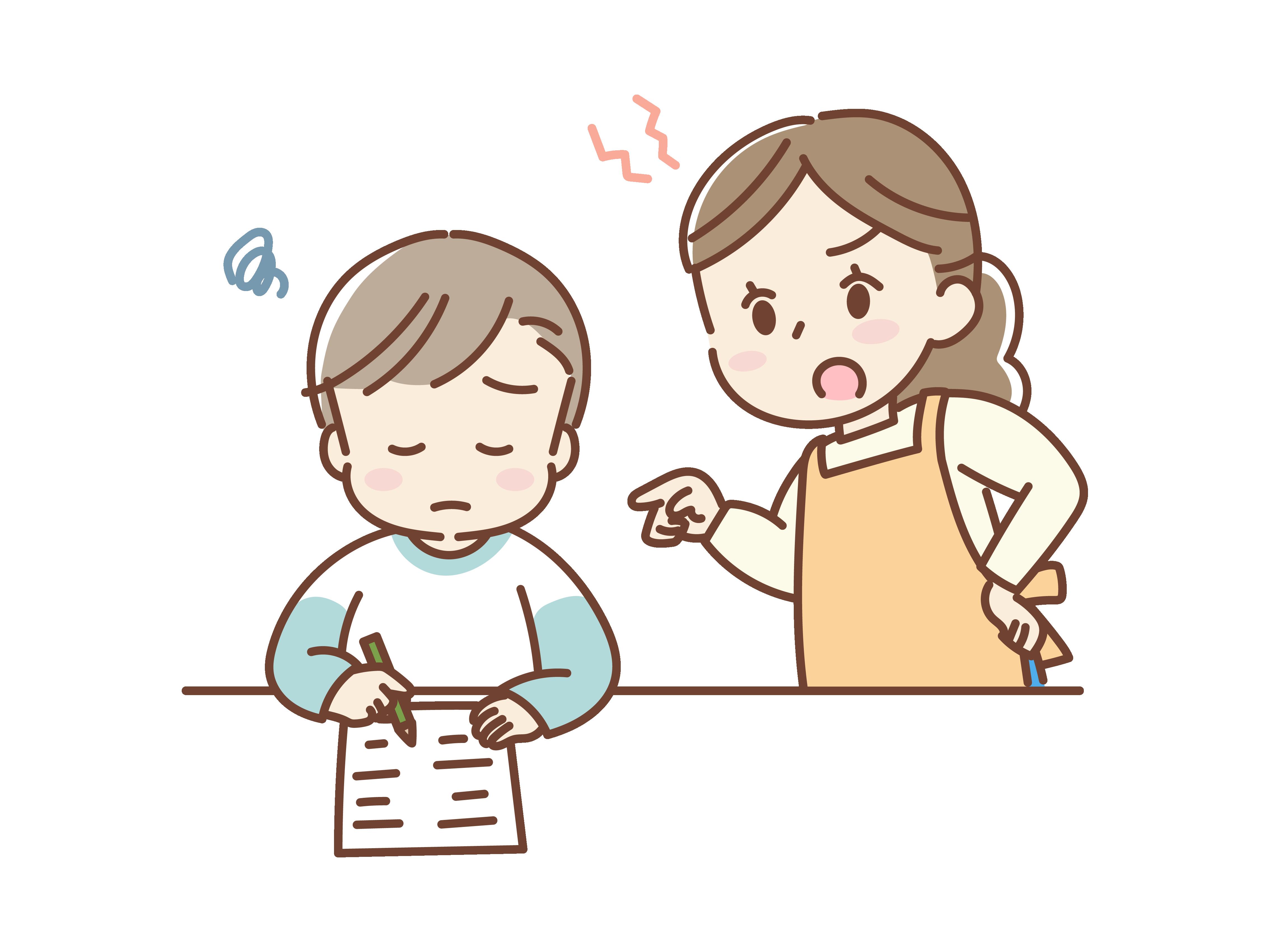 【オノマトペ】ガミガミの意味と例文